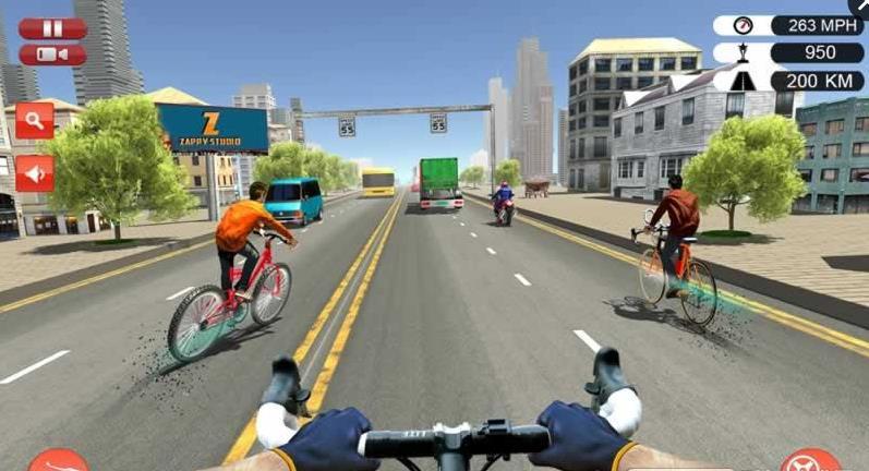 四重特技自行车游戏安卓版  v1.1图1