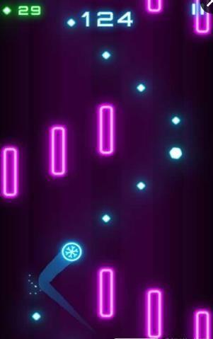 飞球穿越手机游戏安卓版  v1.0.1图2
