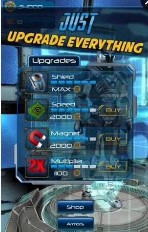机械金刚侠逃亡游戏安卓版  v1.0.3图1