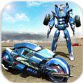 超级英雄摩托机器人破解版