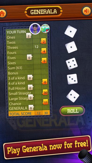 Generala游戏安卓版  v1.0图2