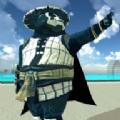 超级英雄飞翔熊猫破解版