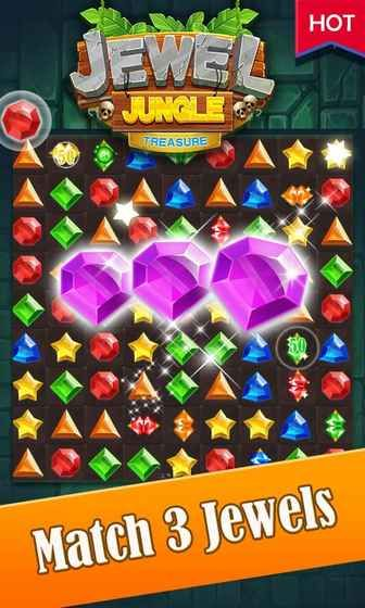 丛林宝石宝藏游戏安卓版  v1.0.3图1