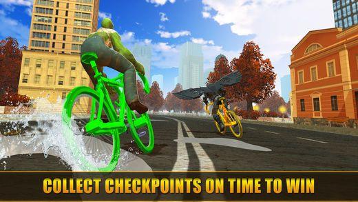 超级英雄快乐自行车比赛手游安卓版  v1.0图1