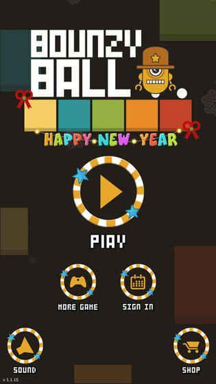 跳跳球游戏安卓版(Bounzy Ballz)  v1.0图3