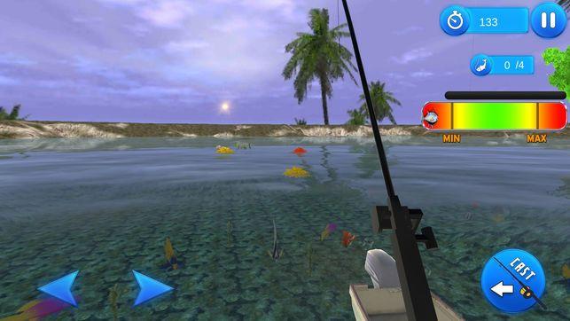 海洋沙滩捕鱼模拟器游戏安卓版  v1.0图3