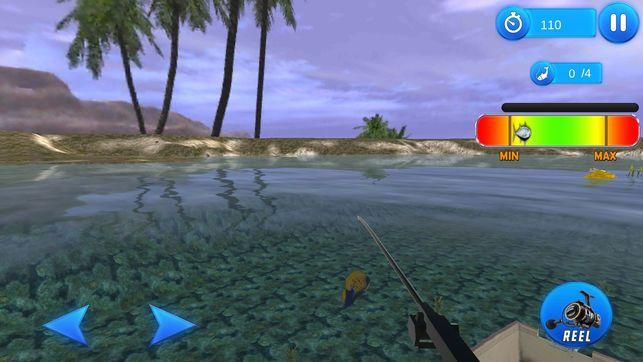海洋沙滩捕鱼模拟器游戏安卓版  v1.0图4