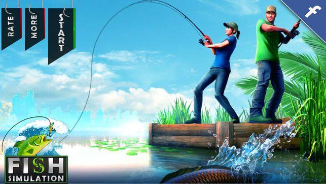 海洋沙滩捕鱼模拟器游戏安卓版  v1.0图1
