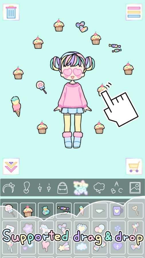 粉彩女孩游戏安卓版  v1.2.3图3