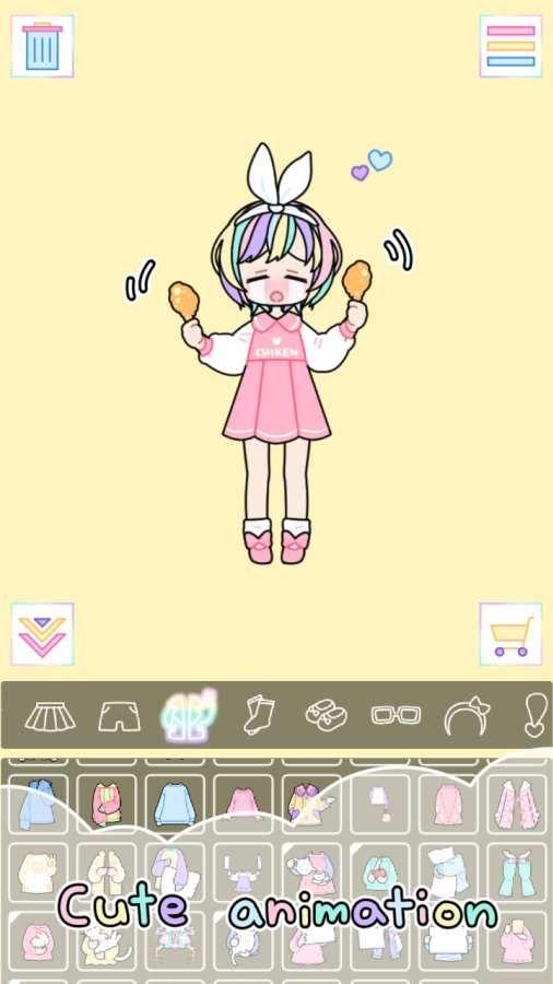 粉彩女孩游戏安卓版  v1.2.3图4