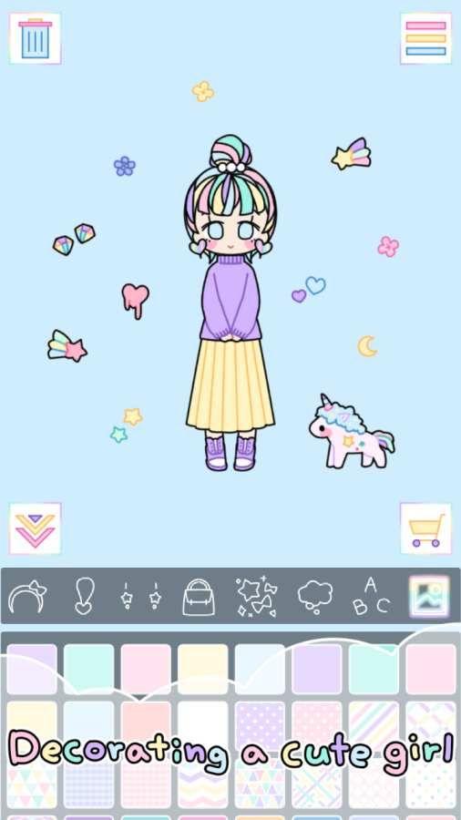 粉彩女孩游戏安卓版  v1.2.3图2