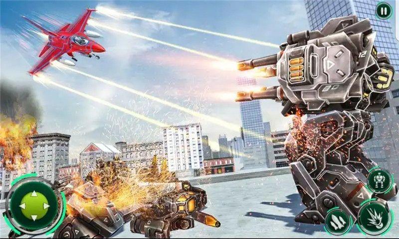 机甲飞行战机游戏安卓官网版  v1.0.0图1
