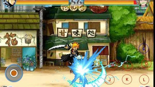 死神vs火影3.3神威卡卡西图4